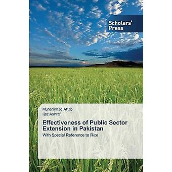Effectiveness of Public Sector Extension in Pakistan by Aftab Muhammad