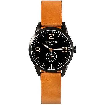 Zeno-Watch Herrenuhr Vintage Line Small Second black 4772Q-bk-i1-6