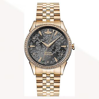Vivienne Westwood Vv208rsrs The Wallace Rose Gold Stainless Steel Ladies Watch