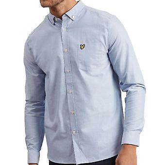 Lyle And Scott Long Sleeve Oxford Shirt  Riviera