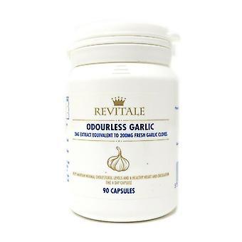 Revitale Odourless Garlic - 90 Softgel Capsules - 2MG Extract