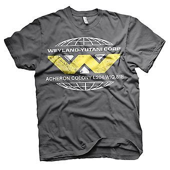 Männer Aliens Wayland Yutani Corp Retro T-Shirt