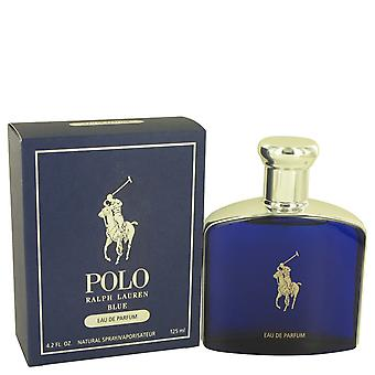 Polo Blue by Ralph Lauren Eau De Parfum Spray 4.2 oz / 125 ml (Men)