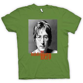 Kids t-skjorte - John Lennon - død helt