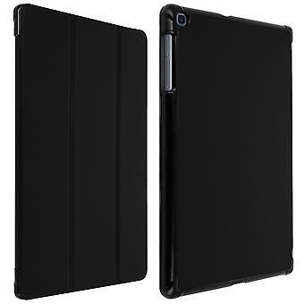 Trifold flip stand case for Samsung Galaxy Tab A 10.1 2019, slim cover - Black