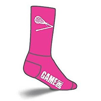 Chaussettes - SockGuy - Lacrosse Rembourré LAX Pink L/XL Cycling/Running
