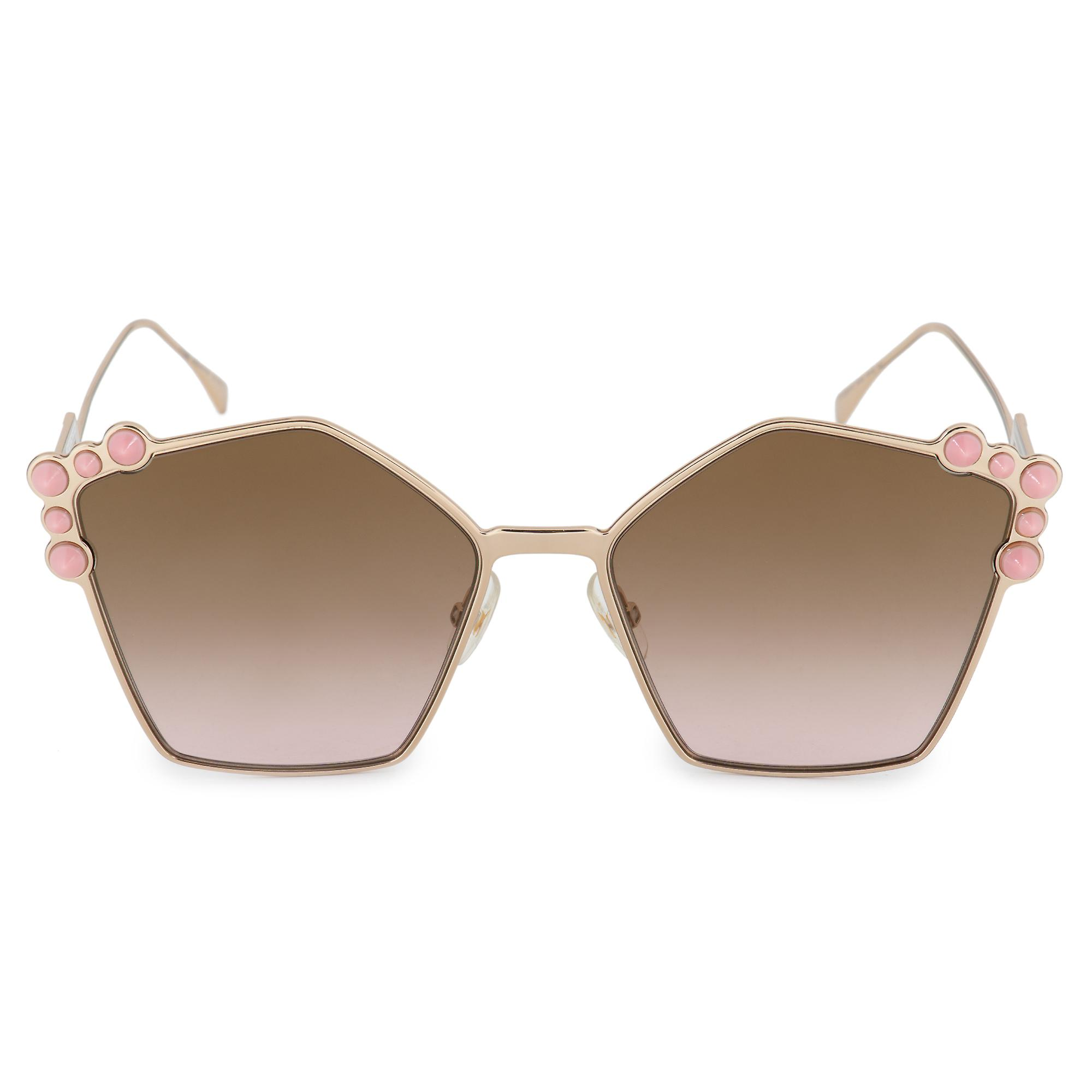 Fendi Can Eye FF 0261 S 000 53 57 Geometric Sunglasses