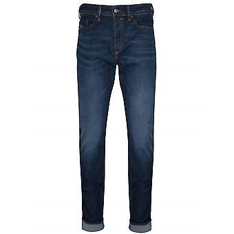 Diesel Diesel Regular Slim Fit Buster Light Blue Wash Jean