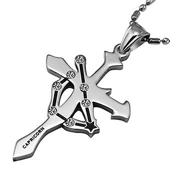 Stainless Steel Capricon Pendant