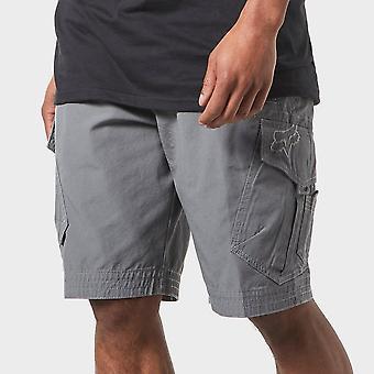 New Fox Men's Slambozo Cargo Shorts Grey