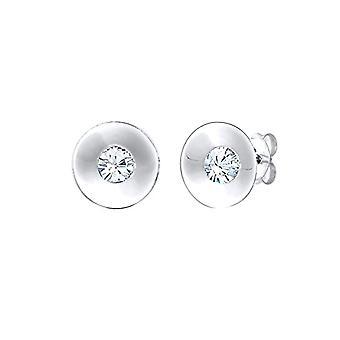 Elli Silver Women's Pin Earrings 301842918