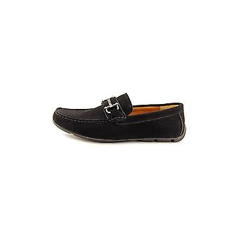 Alfani Womens James Leather Square Toe Loafers