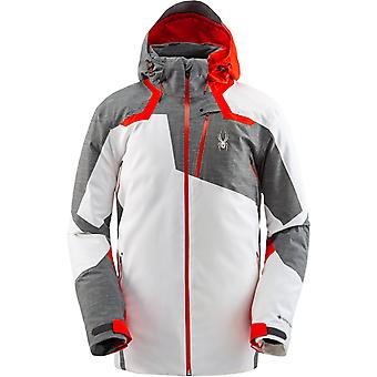 Spyder LEADER Herren Gore-Tex Primaloft Ski Jacke - weiß