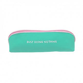 Ohh Deer Busy Doing Nothing Skinny Pencil Case