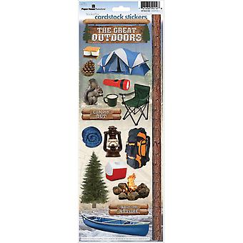 Paper House Cardstock Stickers Camping 2 Stcx 123E