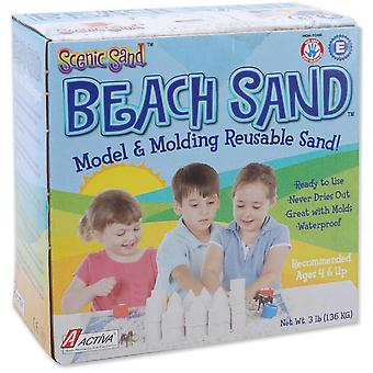 Scenic Sand Beach Sand 3 Pounds White 500A
