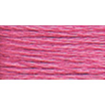 Dmc Six Strand Embroidery Cotton 100 Gram Cone Cyclamen Pink Light 5214 3806