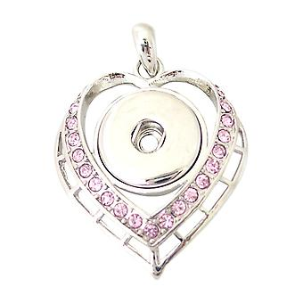 Stainless steel pendant for click buttons KB0284