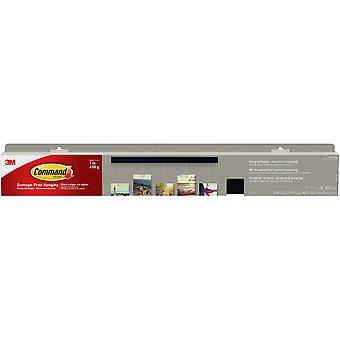 Command Photo Bar 1/Pkg-1 Slate Photo Bar, 5 Wires, & 2 Strips HOM22SES