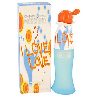 I Love Love by Moschino Edt Spray 30ml
