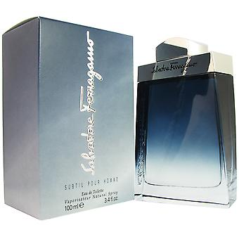 Ferragamo Subtil mannen 3.4 oz EDT Spray
