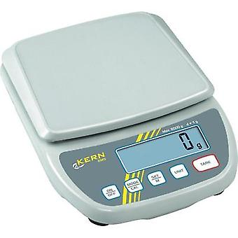 Letter scales Kern EMS 6K0.1 Weight range 6 kg Readability 0.1 g mains-powered, battery-powered White