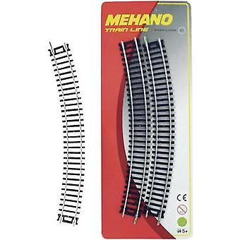 Mehano F210 H0 set of 4 bent track