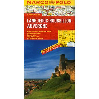 LanguedocRoussillon Auvergne Marco Polo Map by Marco Polo