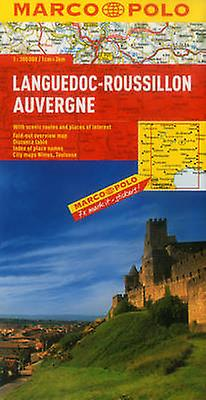 LanguedocRoussillon Auvergne Map by Marco Polo