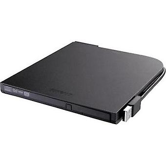 External DVD writer Buffalo DVSM-PT58U2VB-EU Retail USB 2.0 Black
