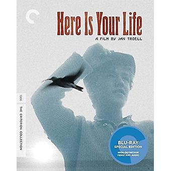 Here Is Your Life [BLU-RAY] USA import