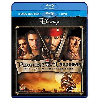 Pirates of the Caribbean-Curse of the Black Pearl [BLU-RAY] USA import