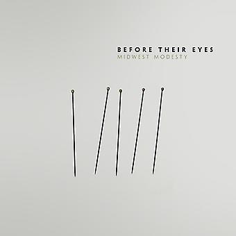 Før deres øjne - importerer Midwest beskedenhed [Vinyl] USA