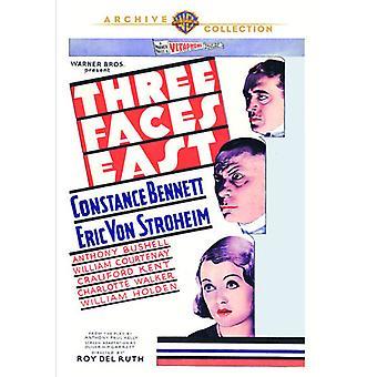 Drei Gesichter Osten [DVD] USA importieren