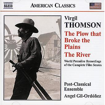 V. Thomson - Virgil Thompson: The Plow That Broke the Plains; the River [CD] USA import