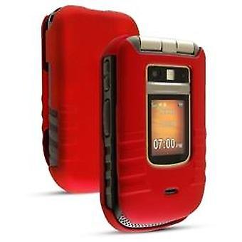 Sprint soft touch snap på tilfældet for Motorola i686 - rød