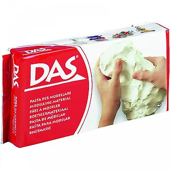 DAS Modelling Air Dry Modelling Clay White 1000g/1KG