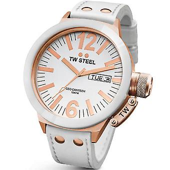 Montre TW STEEL CEO Rose or céramique 50 MM Mens Watch CE1036