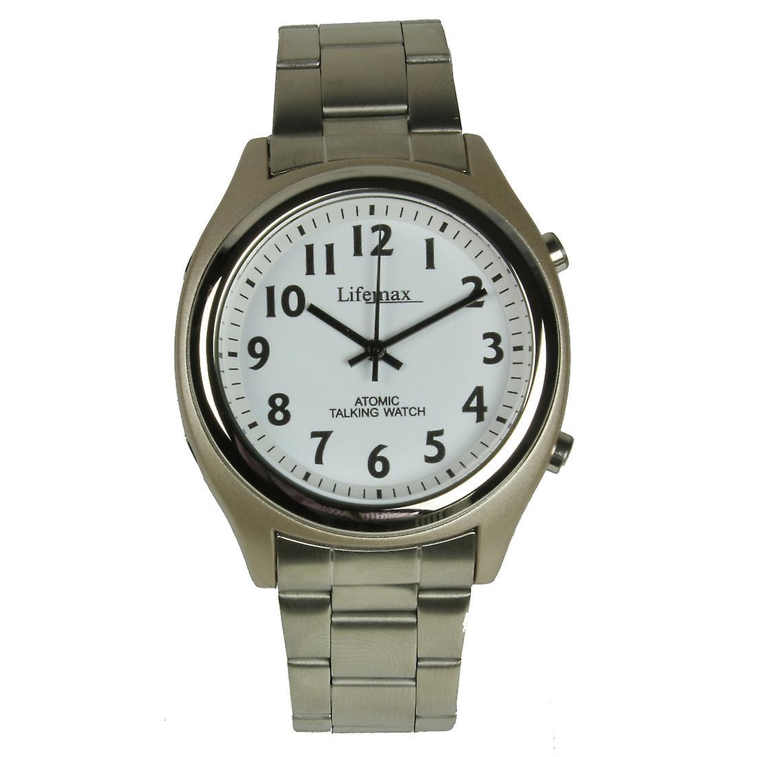 Talking Atomic Watch - Gents Bracelet