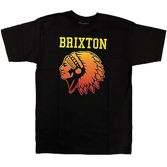 Brixton Anthem T-Shirt Black Gradient