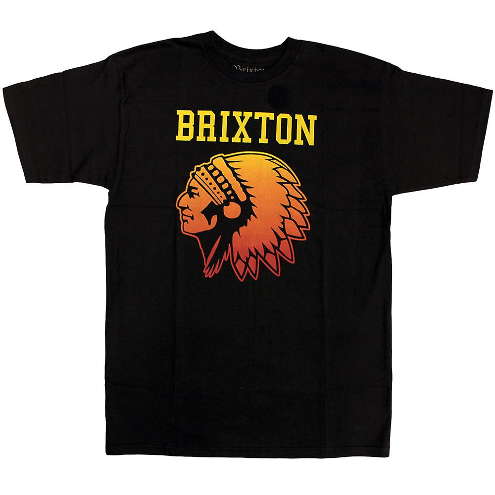 Brixton volkslied T-Shirt Black verloop