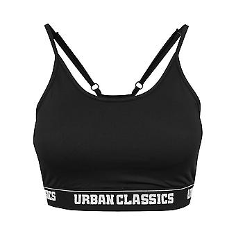 Urban Classics Ladies - SPORTS BRA schwarz