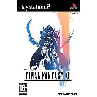 FINAL FANTASY XII (12) (PS2)