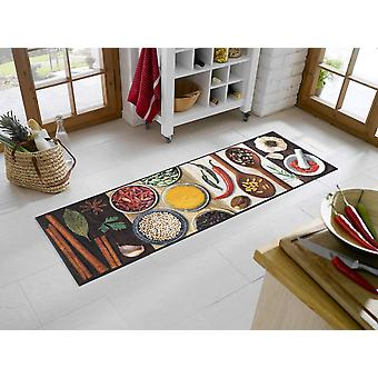 wash + dry kitchen carpet hot spices washable rug