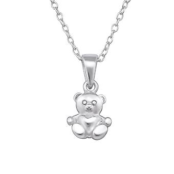 Bear - 925 Sterling Silver Necklaces - W28736x