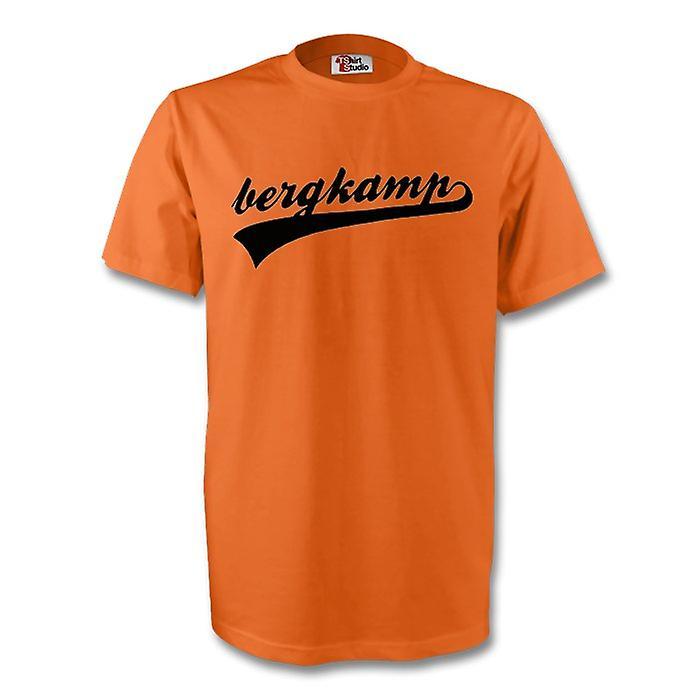Dennis Bergkamp Holland Signature Tee (orange)
