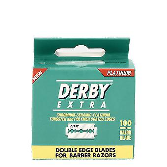 Derby Extra Double Edge Blades 100 Blades