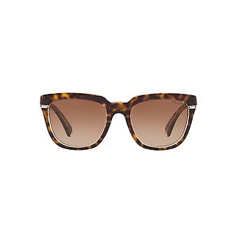 Ralph By Ralph Lauren Two Tone Square Sunglasses In Tortoise Crystal