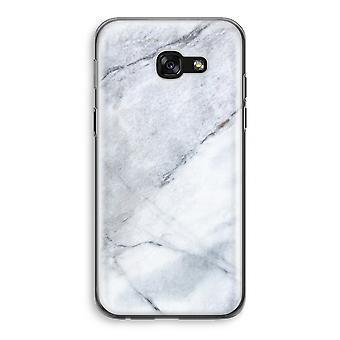 Samsung Galaxy A5 (2017) Transparent Case (Soft) - Marble white