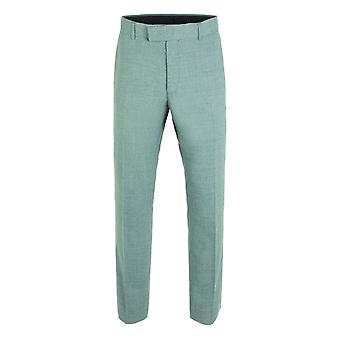 Gibson London Gibson London Grey Semi Plain Trousers